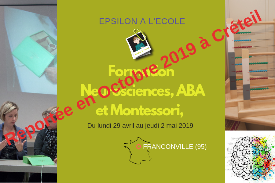 Formation Neurosciences, ABA et Montessori - Caen